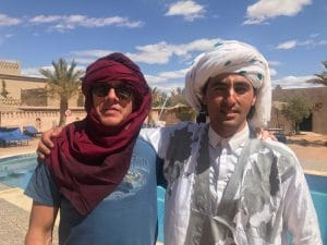 Me and Samed in Morocco
