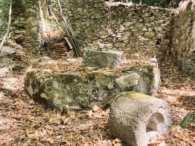 An ancient olive press